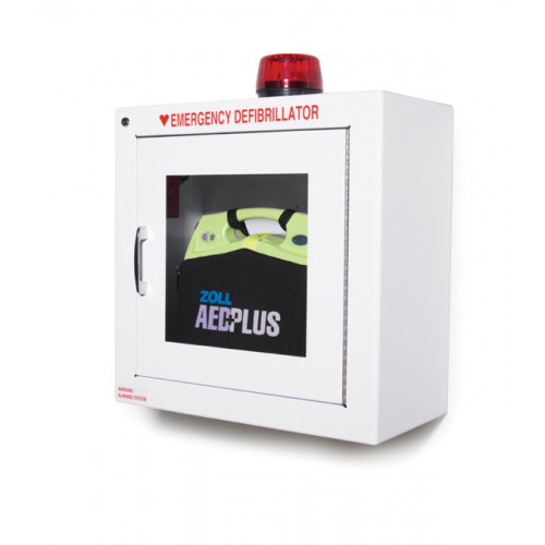 Surface Mounted AED Wall Cabinet with STROBE