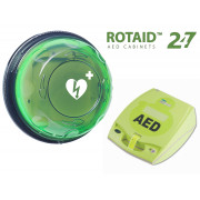 ZOLL AED Plus Complete Package (ROTAID 24/7 Monitored)