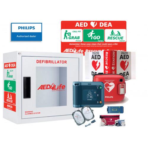 Philips HeartStart FRx Defibrillator - Complete Package