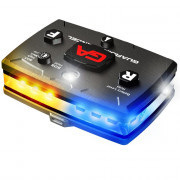 Elite Series White/Blue with Yellow  Wearable LED Safety Light