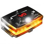 Elite Series White/Orange Wearable LED Safety Light