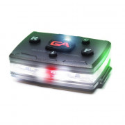 Elite Series White/Green Wearable LED Safety Light