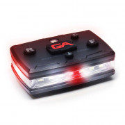 Elite Series White/Red Wearable LED Safety Light