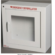 Surface Mount AED Cabinet with alarm- standard 7 inch depth