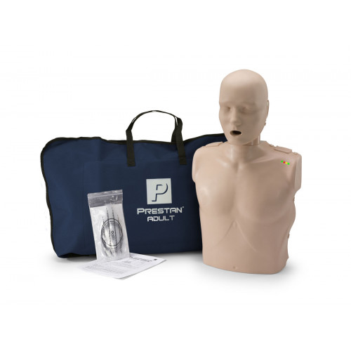 Prestan Professional Adult CPR-AED Training Manikin (Medium Skin, With CPR Monitor)