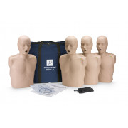 Prestan Professional Adult CPR-AED Training Manikin (Medium Skin, With CPR Monitor) 4-Pack
