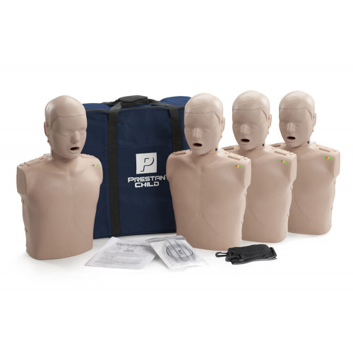 Prestan Professional Child CPR-AED Training Manikin (With CPR Monitor) 4-Pack