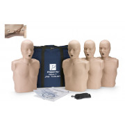 Prestan Professional Adult CPR-AED Training Manikin With Jaw Thrust Head  4-Pack