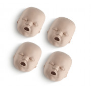 Face Skin Replacements for Prestan Infant Manikins (4-pack)