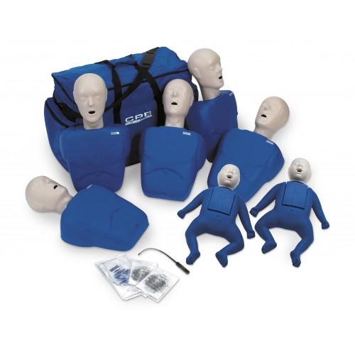 CPR Prompt, Training Kit, w/2 Infant & 5 Adult/Child Manikins