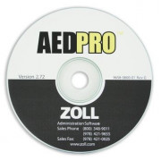 ZOLL AED PRO (ZAS) Administration Software CD