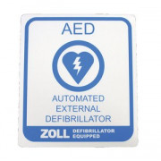 AED Plus Vehicle Decal - 10 each